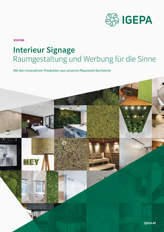 IGEPA Interieur Signage